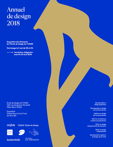 2018 - Événement - Annuel de design 2018