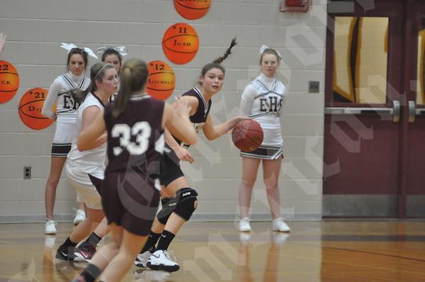 Basketball: EHS girls vs GSA 12/21