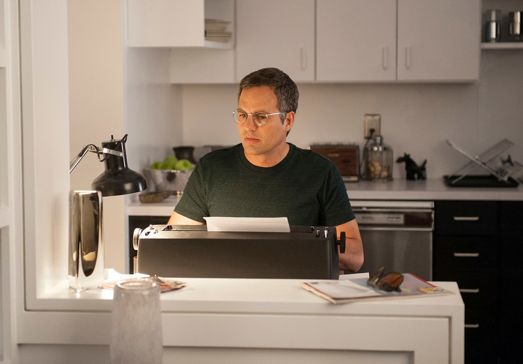 """. This image release by HBO shows Mark Ruffalo as Ned Weeks in a scene from \""""The Normal Heart.\"""" Ruffalo was nominated for an Emmy Award for best actor in a miniseries or movie on Thursday, July 10, 2014. The 66th Primetime Emmy Awards will be presented Aug. 25 at the Nokia Theatre in Los Angeles. (AP Photo/HBO)"""
