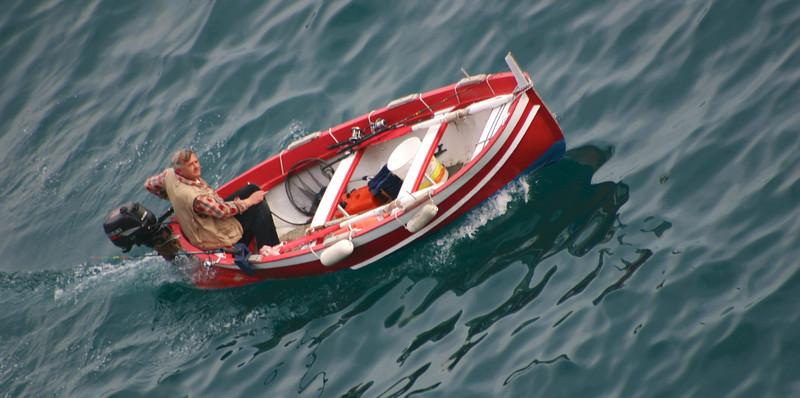 Vernazza fisherman