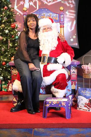 KRON Family Santa Visit