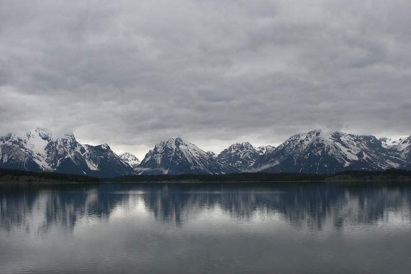 Jackson Lake and Grand Tetons