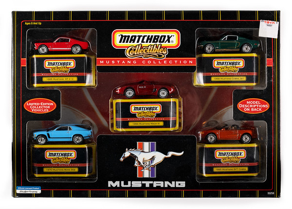 Mustang 5 Car Collection Set