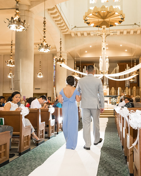 Roze & Corey 7/16/16 at Christ the King.