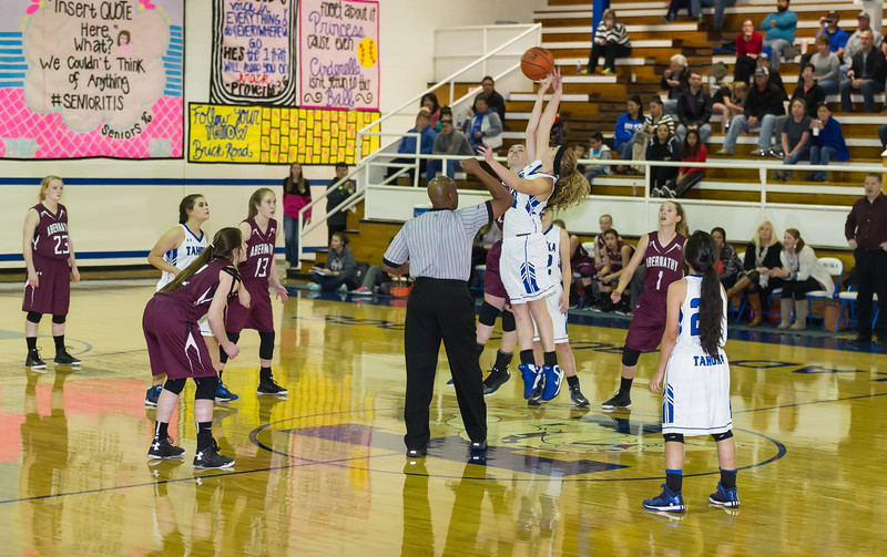 Lady Lopes vs Tahoka, 12-1-2015