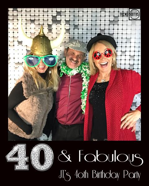JT's 40th Surprise Party