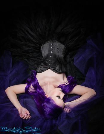 Dark Purple Queen