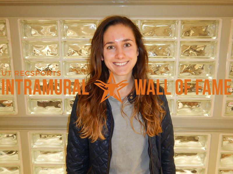 FALL TENNIS Women's Singles Champion  Anna Wanzek