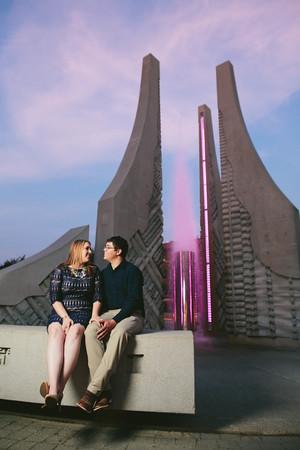 Elizabeth & Jeremy, engaged