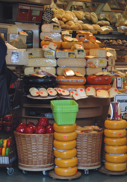 Wonderful displays of cheese, of course!