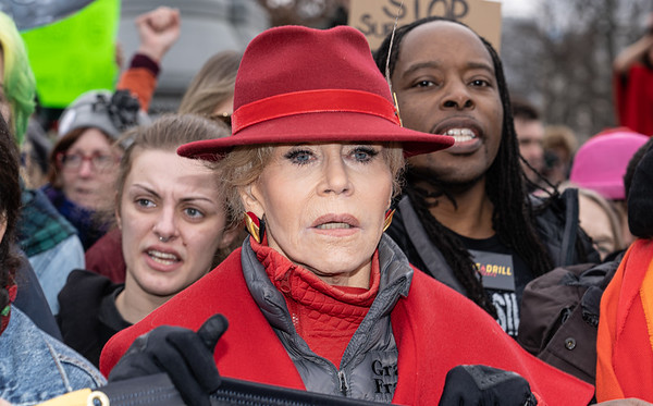Jane Fonda's final Fire Drill Fridays Climate Protest (1/10/20)
