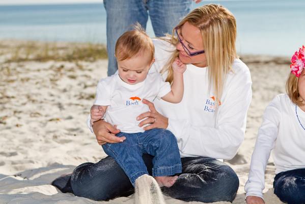 Sarah Madson Family Beach Photos