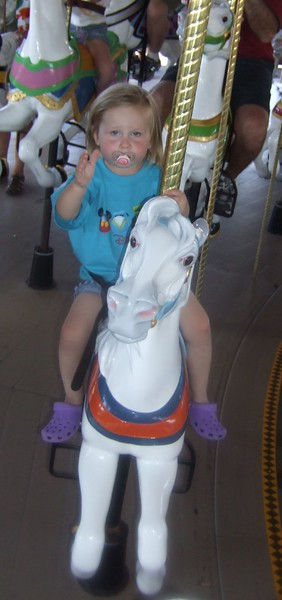 "Mia always chose a ""baby horse"""