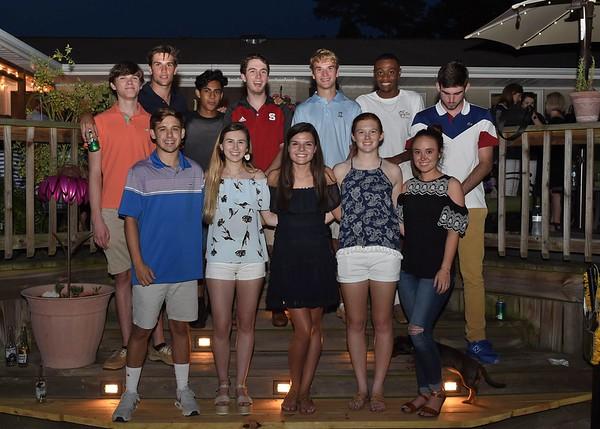 Bauman, Carr, Johnson & Sutton Graduation Party - 2018-06-08