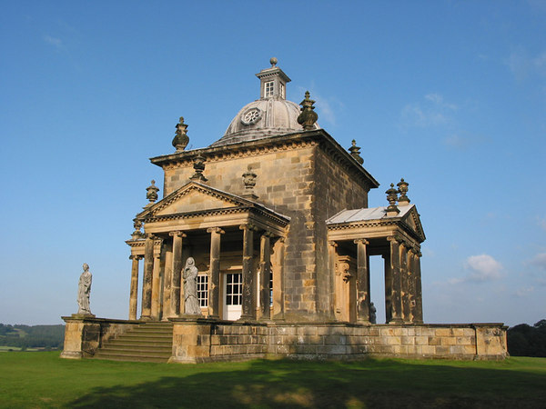 Temple of the Four Winds, Castle Howard, Yorkshire.