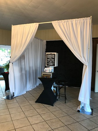 Enclosed Photo Booth Setups & Photos from Events