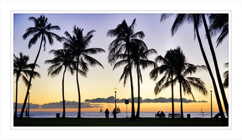 #5531 - Queen's Beach, Honolulu