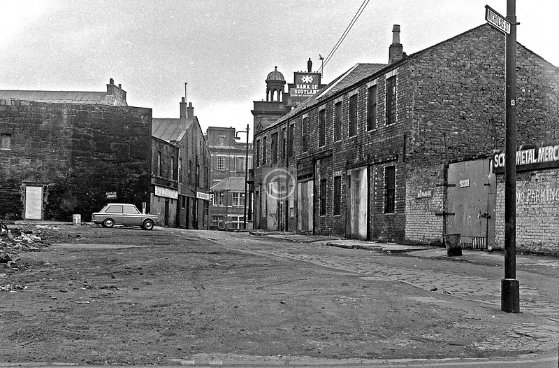 Nicholas St. from Shuttle St. March 1973