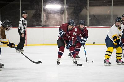 1/13/18: Girls' Thirds Hockey v Choate