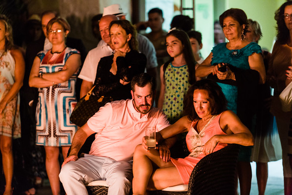 Stephanie & Brad - Rehearsal | 2017.07.05 | Cancun, Mexico