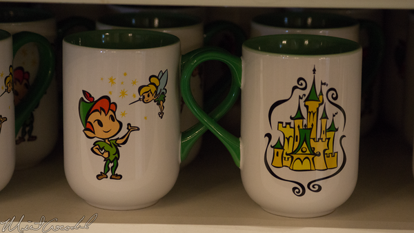 Disneyland Resort, Disneyland, Main Street USA, Cups, Merchandise