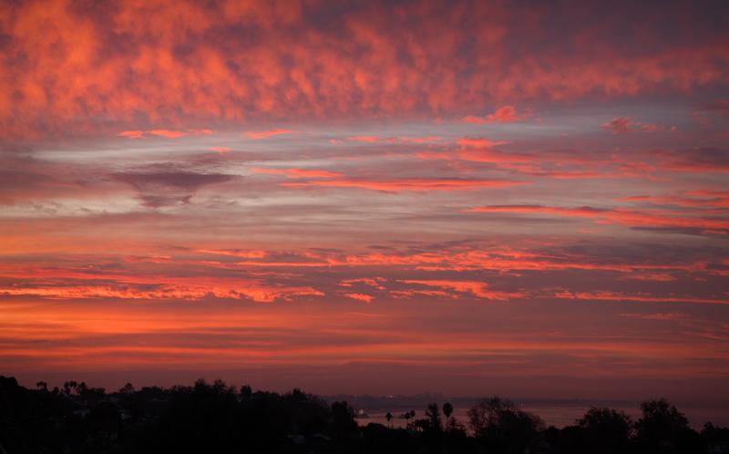 November 16 - Autumnal sunrise over Snta Monica Bay.jpg