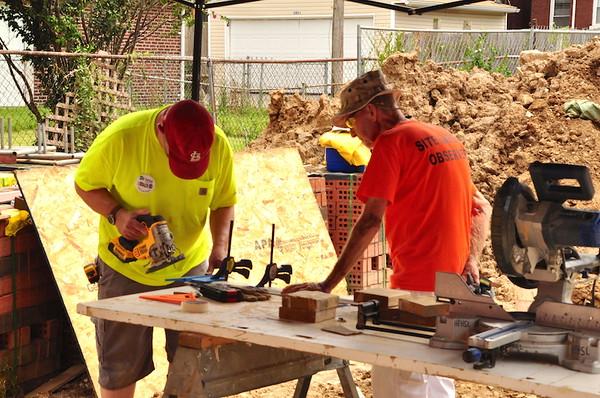 Tiffany Build - July 25 - McRee