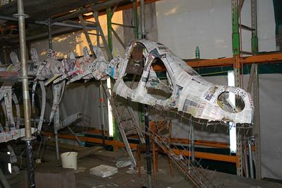 Bloemencorso 2009 - Wagenbouw (31 augustus)
