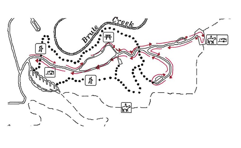 Union Grove State Park (Winter Trail Map)