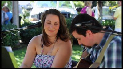 Jon and Kerri White Acoustic Duo, August 14, 2010