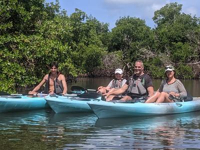 9AM Mangrove Tunnel Kayak Tour - Colella