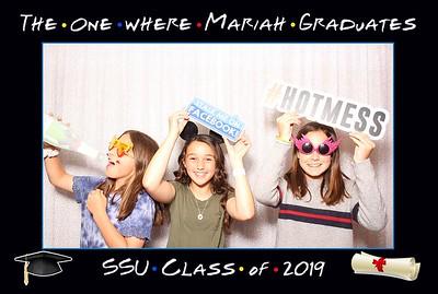 """The one where Mariah graduates"" SSU Class of 2019"