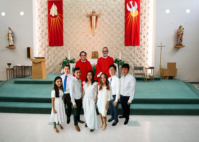 Sacred Heart Confirmations Mass August 8, 2020 at 2:00 PM