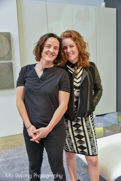 Alexis Moran and Sabine Lowrey