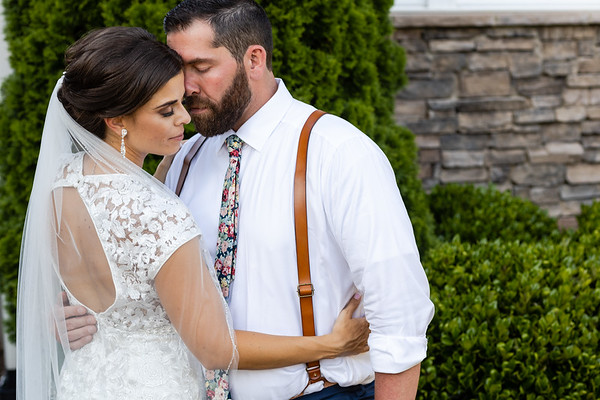 Megan & Mike | Intimate Backyard Wedding in Durham