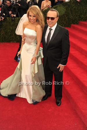 Talia and Tommy Mottola photo by Rob Rich © 2014 robwayne1@aol.com 516-676-3939