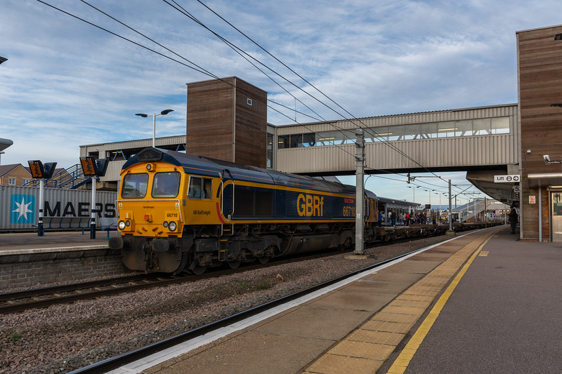 GBRf 66710, Peterborough