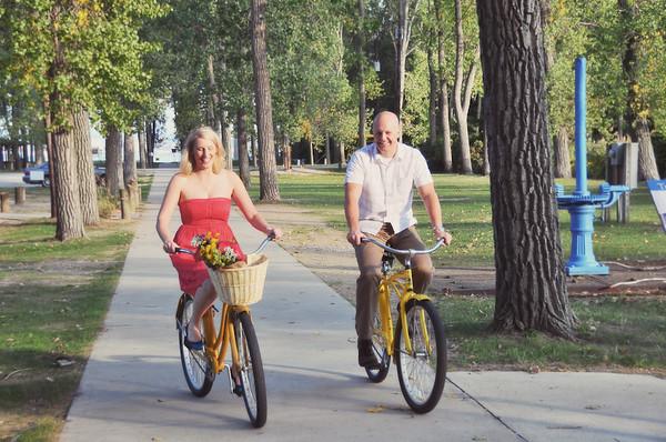 Presque Isle Bike Engagement Shoot