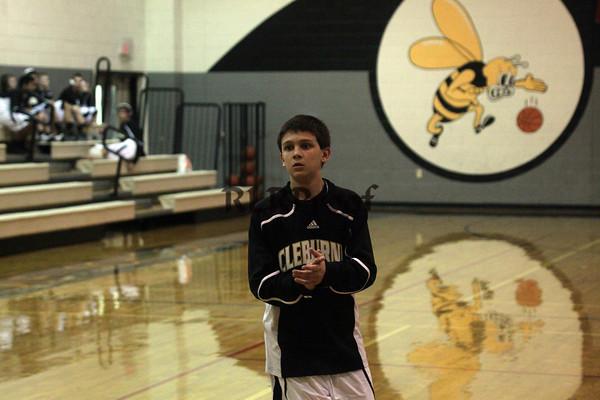 Smith MS 8th Grade vs N Crowley Jan 19, 2012