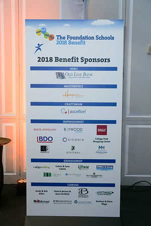 The Foundation Schools - 2018 Benefit