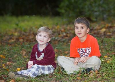 Balen and Liam - Nov. 2013