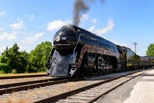 NC Transportation Museum and the N&W Class J 611