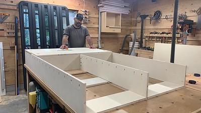 2020.08.27 Truck  bed build