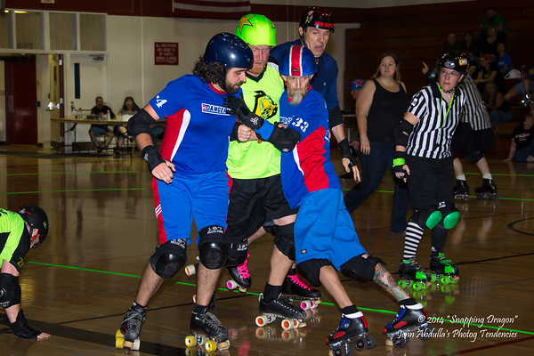 AZMD Dangerzone v The Sting 4-2014