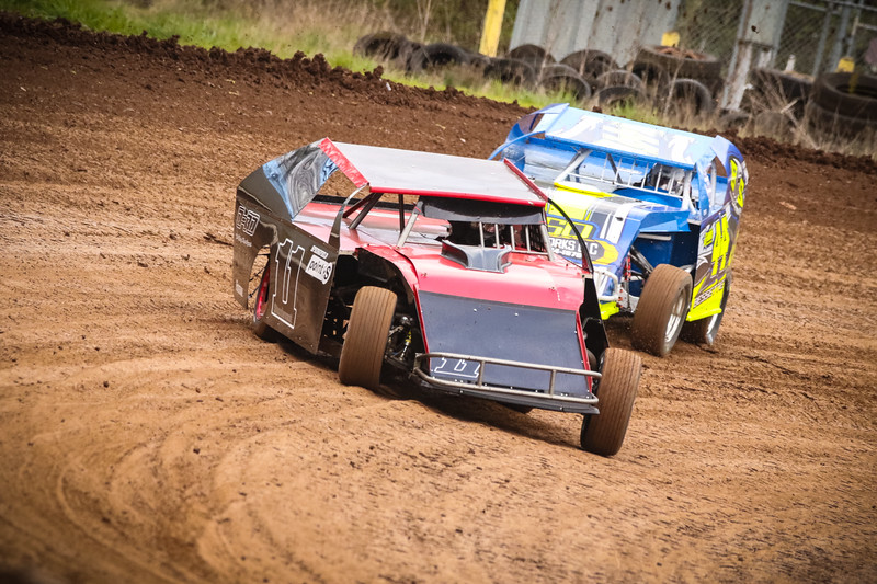 Racing Action from