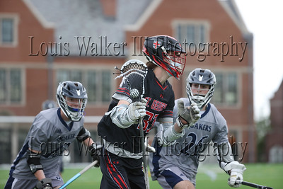 LAX Moses Brown at St George's on May 8, 2021