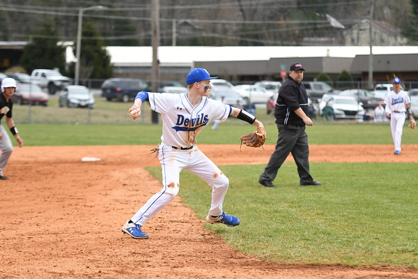 UCHS Baseball vs David Crockett - March 2020