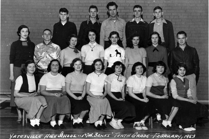 1952-53 Class Photos - Yatesville