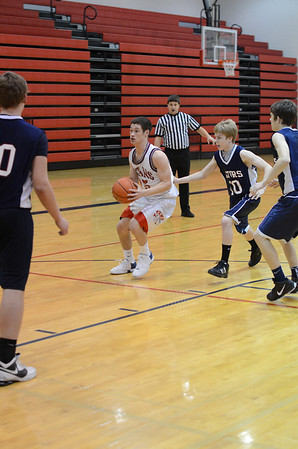 Res Boys Basketball vs Lincoln North Star 2-9-12