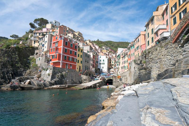 Riomaggiore Harbor, Cinque Terre, Italy